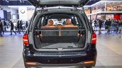Mercedes GLS boot at BIMS 2016