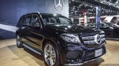 Mercedes GLS front three quarter at BIMS 2016