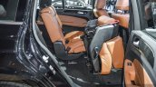 Mercedes GLS second row seat fold at BIMS 2016