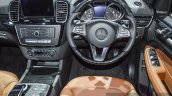 Mercedes GLS steering wheel at BIMS 2016