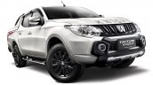 Mitsubishi Triton Knight edition front three quarters right side