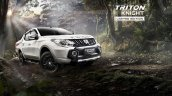 Mitsubishi Triton Knight edition front three quarters