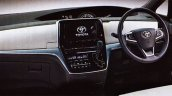 New leaks reveal the interior of the 2017 Toyota Previa