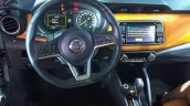 Nissan Kicks compact SUV interior in the flesh