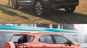 Nissan Kicks vs. Ford EcoSport rear three quarters