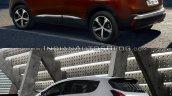 Peugeot 3008 rear three quarter Old vs New