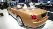 Rolls-Royce Dawn rear three quarters left side at Auto China 2016