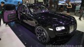 Rolls-Royce Ghost Black Badge front three quarters right side at Auto China 2016