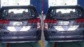 Toyota Calya rear leaked