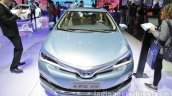Toyota Corolla Hybrid front at Auto China 2016