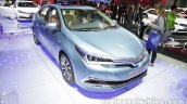 Toyota Corolla Hybrid front three quarters at Auto China 2016