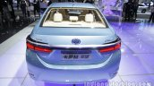 Toyota Corolla Hybrid rear at Auto China 2016