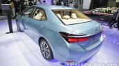 Toyota Corolla Hybrid rear three quarters at Auto China 2016