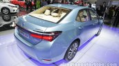Toyota Corolla Hybrid rear three quarters right side at Auto China 2016