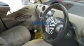 Toyota Etios facelift interior spied in India