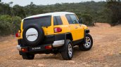 Toyota FJ Cruiser rear three quarters