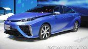 Toyota Mirai front three quarters at Auto China 2016