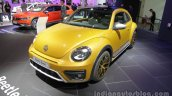 VW Beetle Dune front three quarters at Auto China 2016
