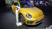 VW Beetle Dune front three quarters right side at Auto China 2016