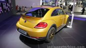 VW Beetle Dune rear three quarters at Auto China 2016