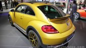 VW Beetle Dune rear three quarters left side at Auto China 2016