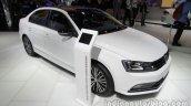 VW Sagitar 25th Anniversary Edition front three quarters at Auto China 2016