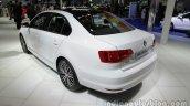 VW Sagitar 25th Anniversary Edition rear three quarters left side at Auto China 2016