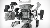 Volvo Drive-E 3 cylinder Petrol - modular design