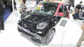 smart BRABUS forfour front three quarters at Auto China 2016