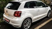 189 hp VW Polo GTI rear three quarter spied