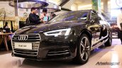 2016 Audi A4 front three quarters Indonesian launch
