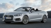 2016 Audi A5 Cabriolet front three quarters rendering