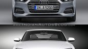 2016 Audi A5 Coupe vs. 2012 Audi A5 Coupe front