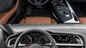 2016 Audi A5 Coupe vs. 2012 Audi A5 Coupe interior dashboard driver side