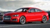 2016 Audi S5 Sportback front three quarters rendering