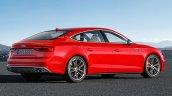 2016 Audi S5 Sportback rear three quarters rendering