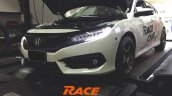 2016 Honda Civic 1.5 Turbo front tuned to 225PS:285Nm