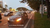 2016 Proton Perdana front quarter spied near a dealership