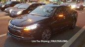 2016 Proton Perdana front three quarter spied near a dealership