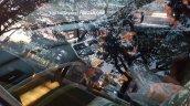 2016 Proton Perdana interior spied near a dealership