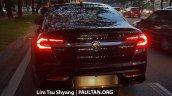 2016 Proton Perdana rear spied near a dealership