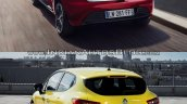 2016 Renault Clio (facelift) vs. 2012 Renault Clio rear three quarters left side