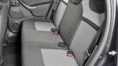 2017 Dacia Duster rear seats