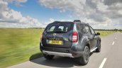 2017 Dacia Duster rear three quarters in motion