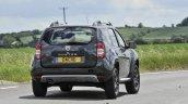 2017 Dacia Duster rear three quarters right side