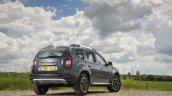 2017 Dacia Duster rear three quarters