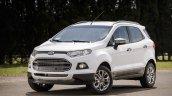 2017 Ford EcoSport front three quarters Brazil