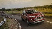 2017 Ford EcoSport front three quarters right side Brazil
