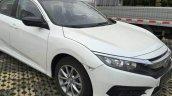 2017 Honda Civic 180Turbo front three quarters spy shot