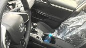 2017 Honda Civic 180Turbo interior spy shot